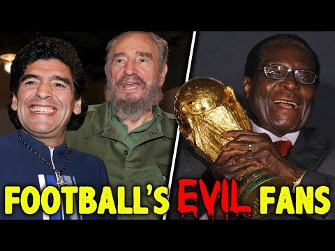 10 Most EVIL Football Fans!