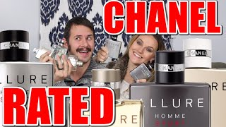 Best Chanel Allure Homme Fragrances Rated By My Wife