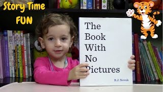 the book with no pictures read aloud at preschool