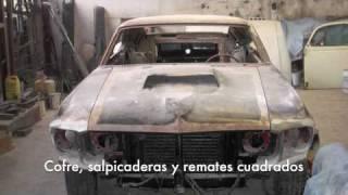Restauración Mustang Boss '69