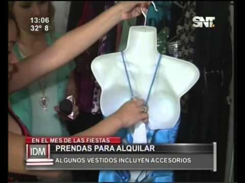 Alquiler de vestidos de fiesta en asuncion
