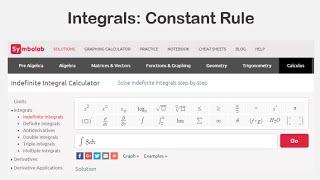 Integrals Practice  Symbolab