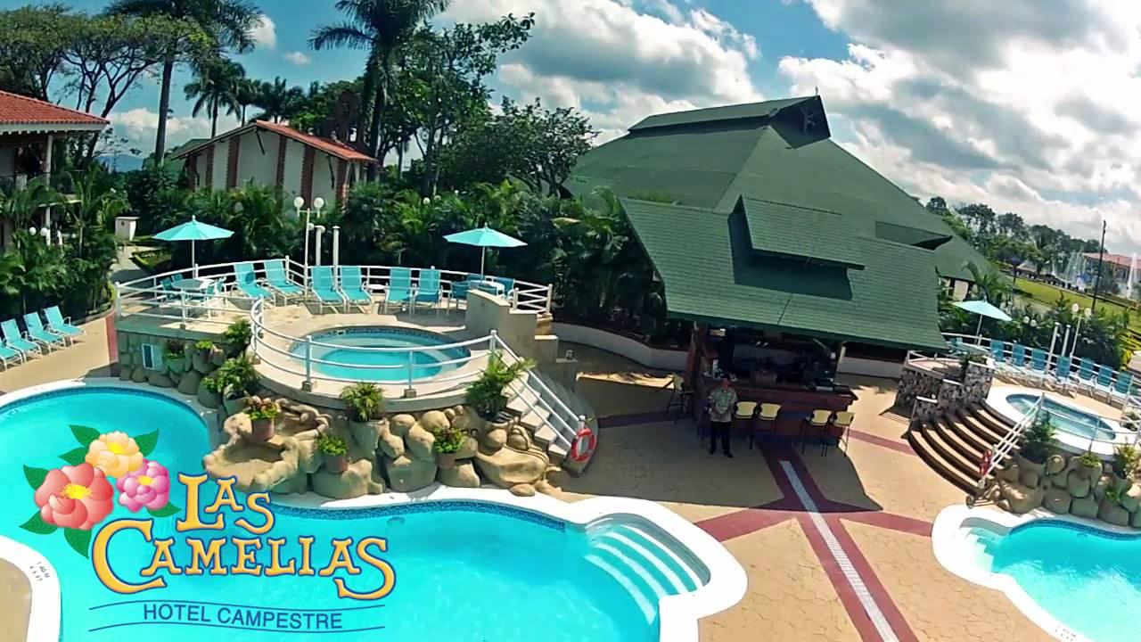Hotel campestre las camelias video aereo youtube - Hotel las gaunas en logrono ...