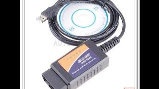 ELM 327 USB OBD-OBD2 автомобильный диагностический сканер