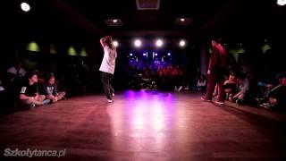 Top 16 Hip-Hop 1vs1 - Krzystof Kulling vs Sheva | Free Mind 2013 | WWW.SZKOLYTANCA.PL