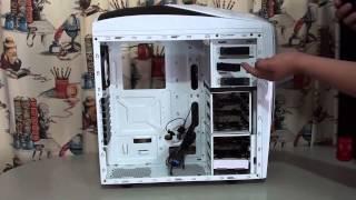 gabinete Gaming NZXT Phantom 240 unboxing y  review
