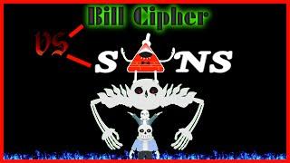 [SFM Undertale] Bill Cipher VS Sans & UltraSans