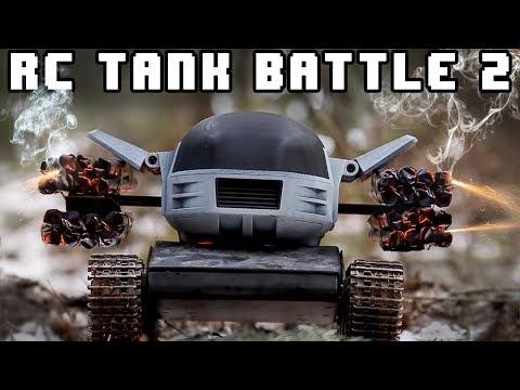 RC TANK BATTLE 2: REVENGE! - RCExplorer.se