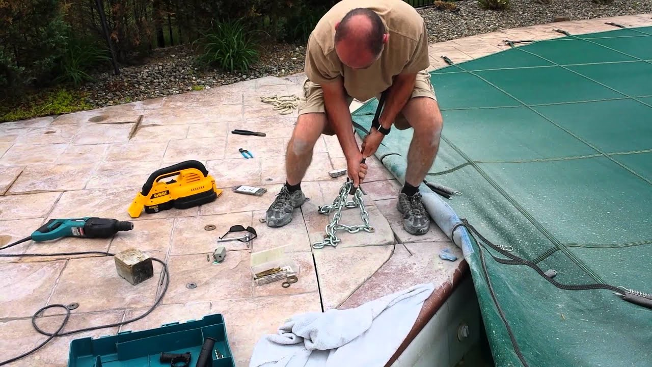 Pool return fitting repair youtube How to fix a swimming pool leak