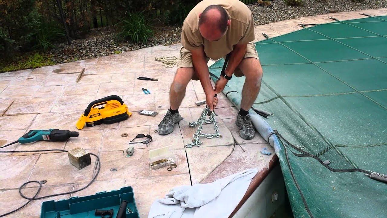 Pool return fitting repair - YouTube