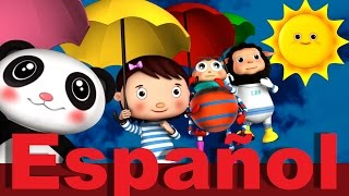 Lluvia lluvia vete ya | LittleBabyBum Canciones infantiles HD 3D