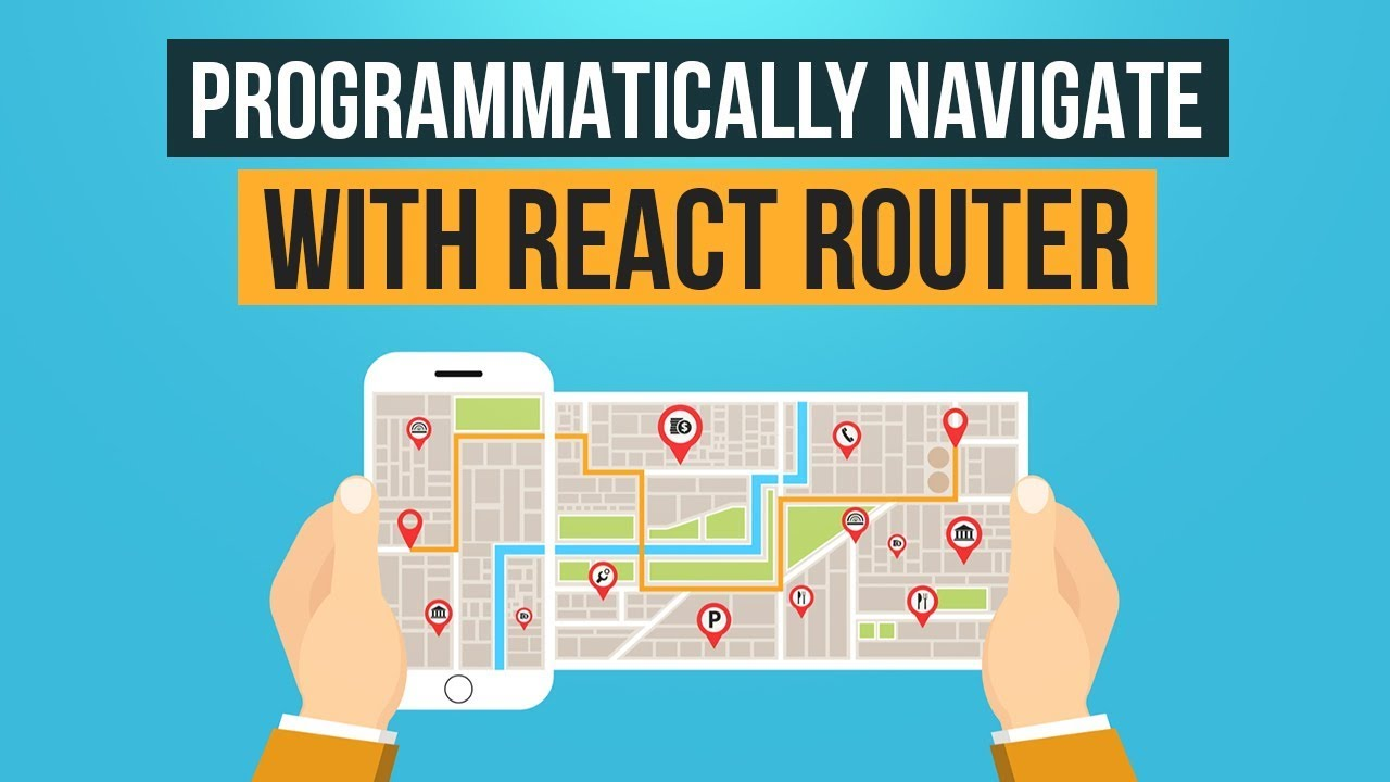 Programmatically navigate with React Router