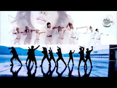 GIRLS' GENERATION (SNSD) x EXO - Run Devil Run/Monster (MashUp)
