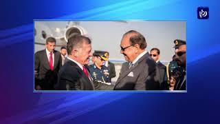 جلالة الملك يبحث مع رئيس الوزراء الباكستاني العلاقات الثنائية والتطورات الإقليمية - (8-2-2018)