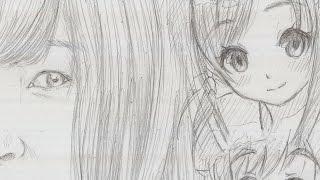 さろめ888です。 上田 麗奈(うえだ れいな)さんの似顔絵?は、 ばくおん!!シリーズで書いてましたが、 実はこちらの方が先に書いておりました。