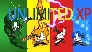 Unlimited XP in *Castle Crashers* TAKES 5 MINS!