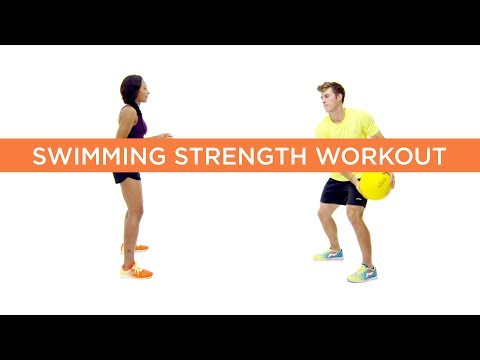 Swimming Strength Training Session