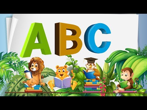 ABC Song  ABCD Alphabet Songs  ABC Songs for Children 2018Nursery Rhymes 4k