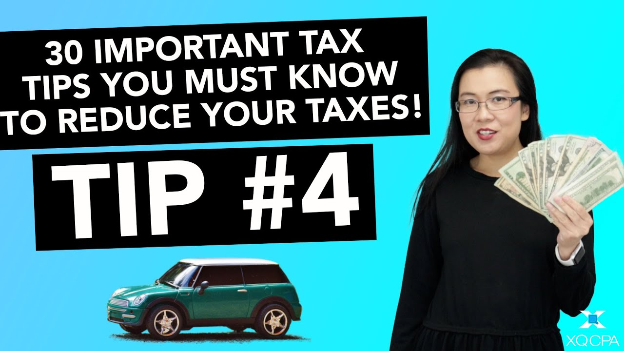 30 Important Tax Tips You Must Know to Reduce Your Taxes! - #4 Mileage Deductions