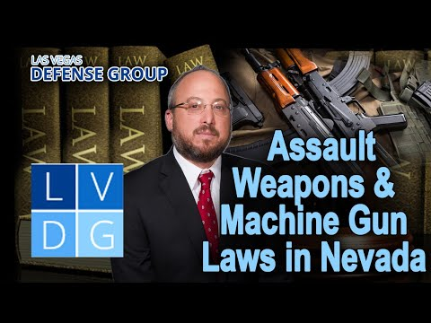 Are assault weapons legal in Nevada?