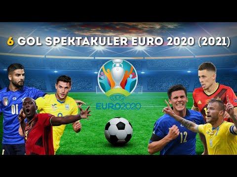 FANTASTIS !!! 6 GOL SPEKTAKULER EURO 2020 (2021) - BEST GOALS