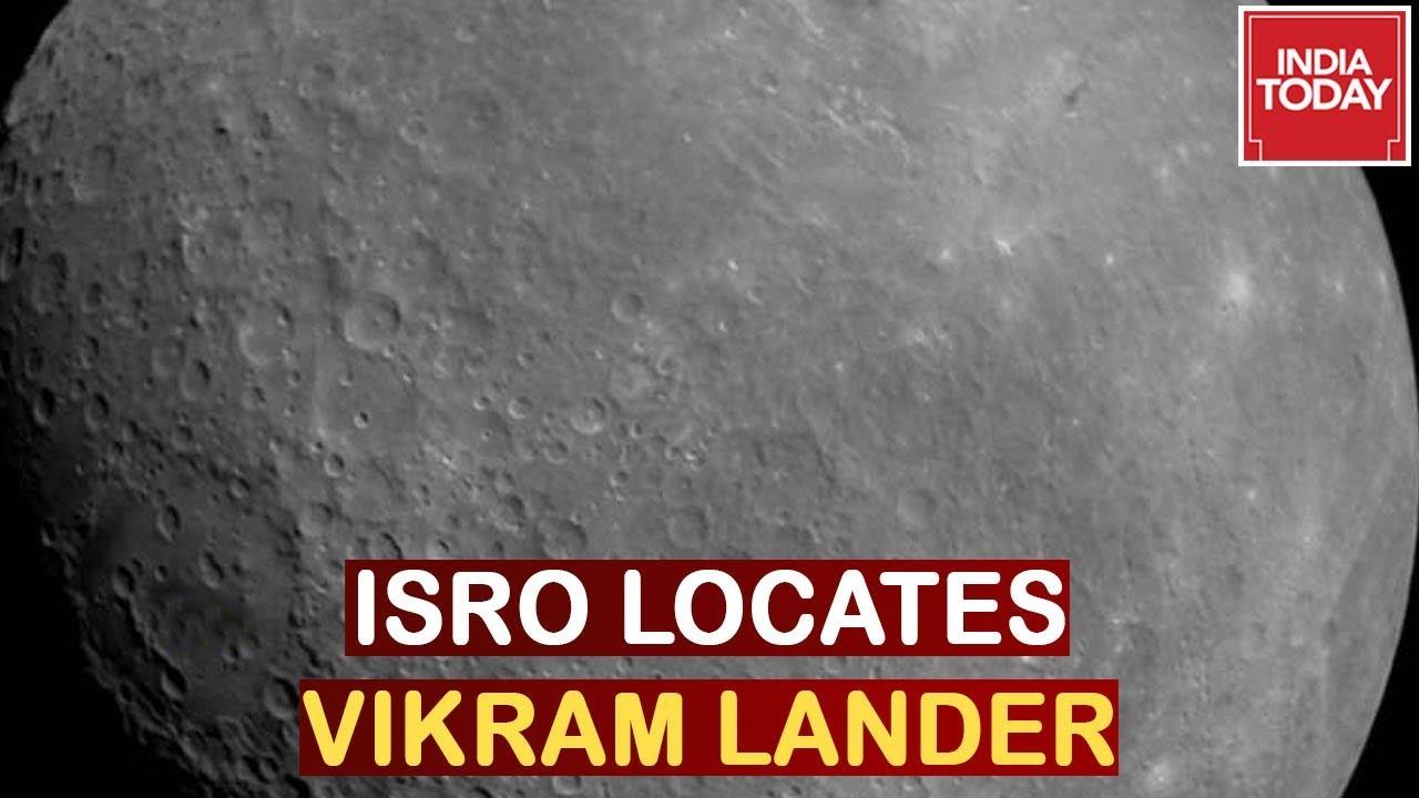 Big Breakthrough For ISRO, Chandryaan 2 Lander Vikram Located Via Orbiter