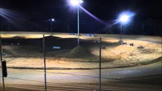 Southern Vintage Racing Association Heat Races 10/3/15 NWFL Speedway