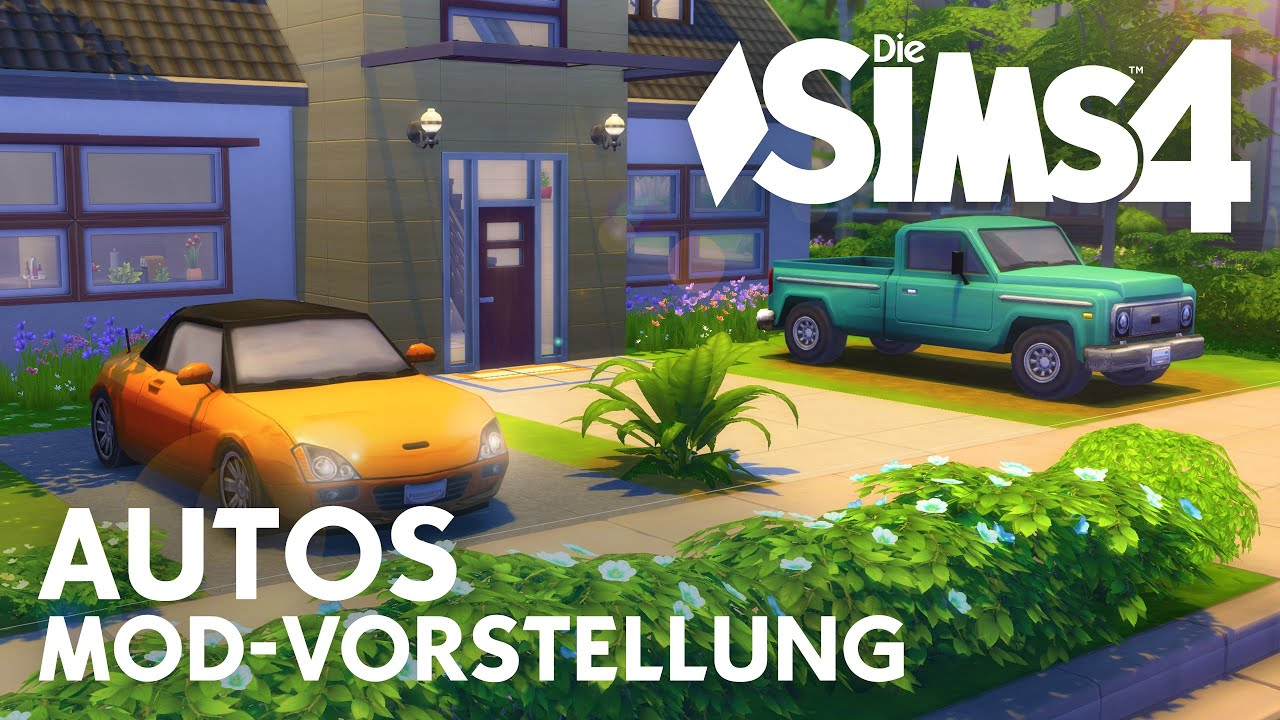 Die Sims 4 Autos Als Download Mod Youtube