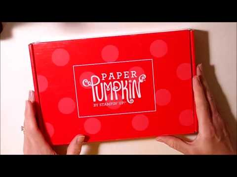 Paper Pumpkin Unboxing and Alternatives for Manly Moments - May 2018