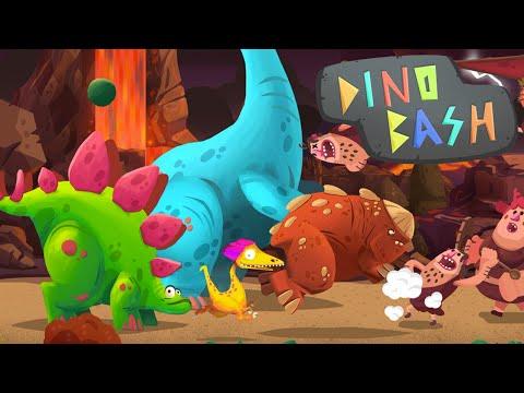 BRACHIOSAURUS ARRIVES!! - Dino Bash - Ep4 HD