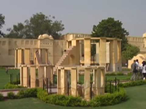 Travel India-Jaipur Observatory (Jantar Mantar) 斋普尔的古观象台