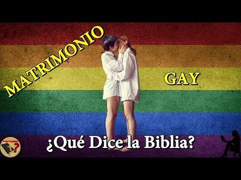 Matrimonio Igualitario Biblia : Qué dice la biblia acerca del matrimonio gay tengo preguntas