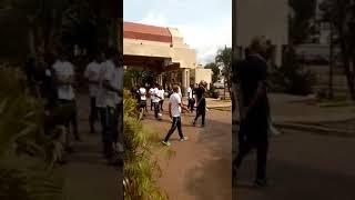 Super Eagles' Walk in Yaounde