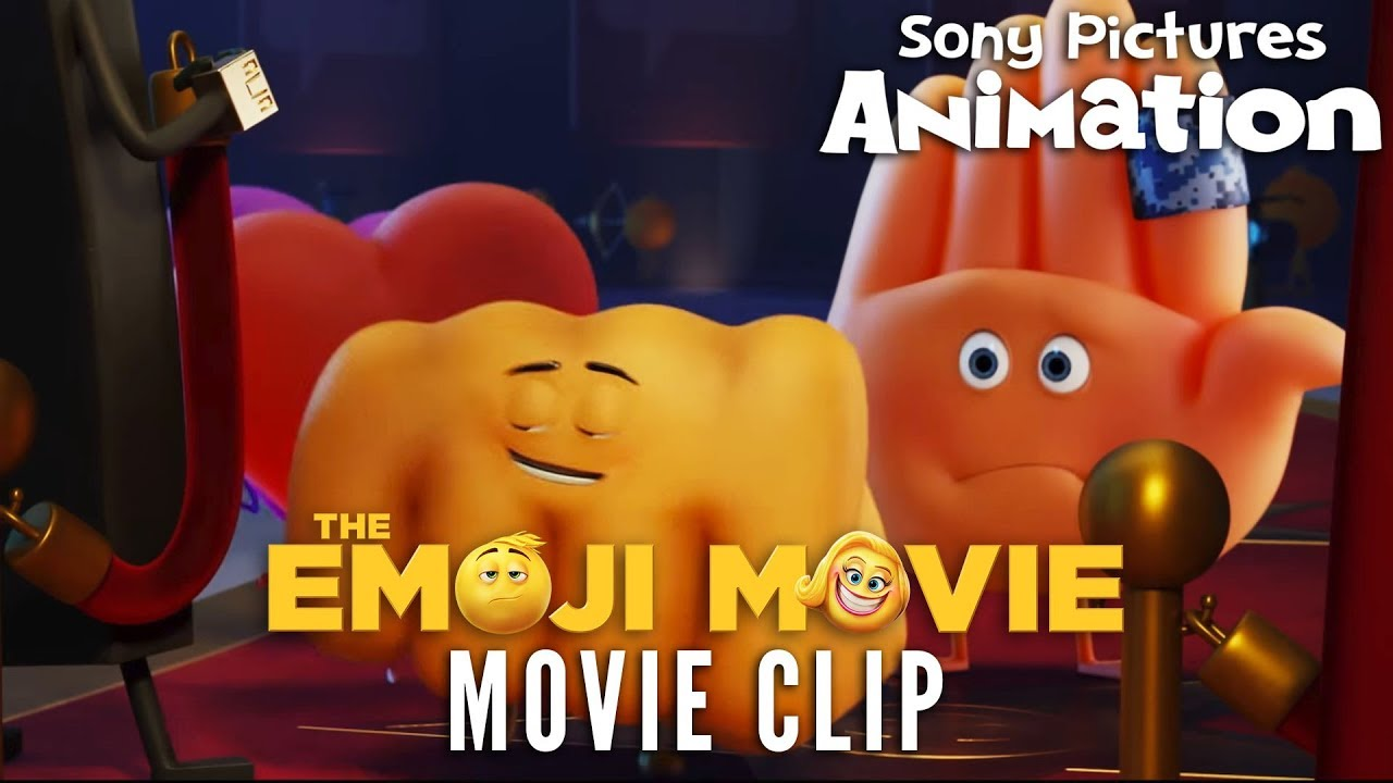 The Emoji Movie Fist Bump Vs Hi 5 Youtube