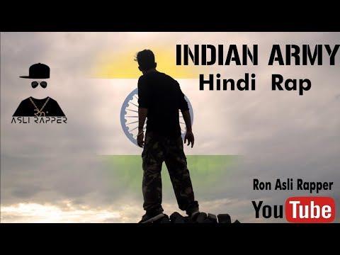 Indian Army | Hindi Rap | Ron Asli Rapper