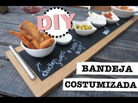 DIY | BANDEJA COSTUMIZADA CON PINTURA DE...