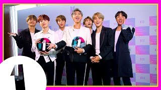 Download BTS play the Award Box Challenge! (Radio 1's Teen Awards 2018) Mp3 and Videos