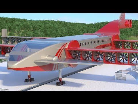 Flying Train - The Future Of Public Transportation