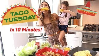 Taco Tuesday in 10 Minutes! Healthy Tacos Recipe Kids Love