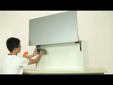 Swing Up Door Wall Cabinet 1 Youtube