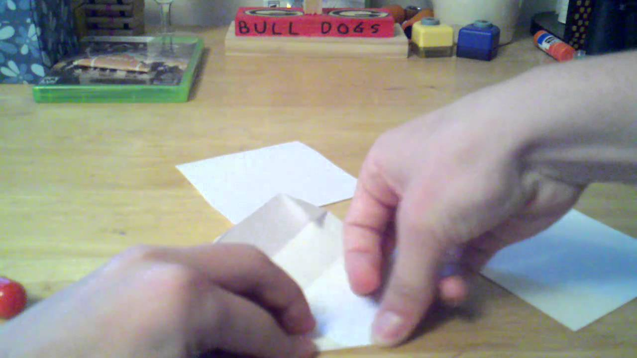 How To Make A 3 D Paper Football