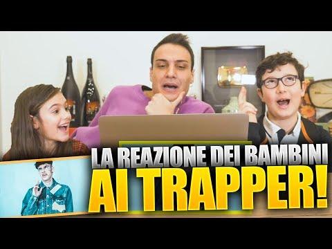 I BAMBINI REAGISCONO ai TRAPPER ITALIANI !