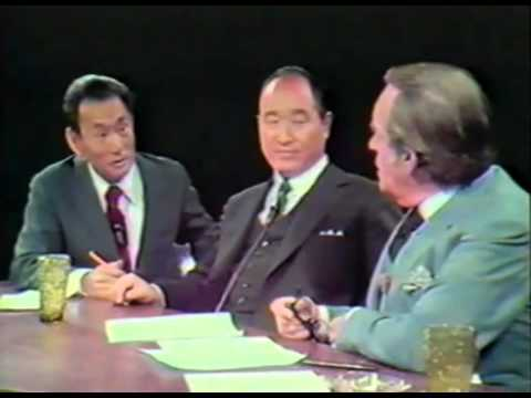 Part 2 - Rev. Moon's live interview from 1972 with Al Capp
