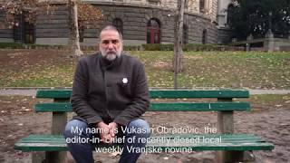 Victims of Corruption: Vukasin Obradovic