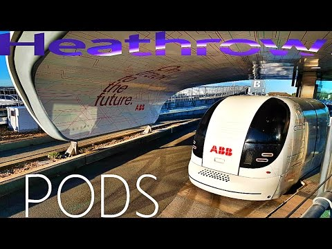 Heathrow PODS FULL TRIP TO T5 (Heathrow Terminal 5)