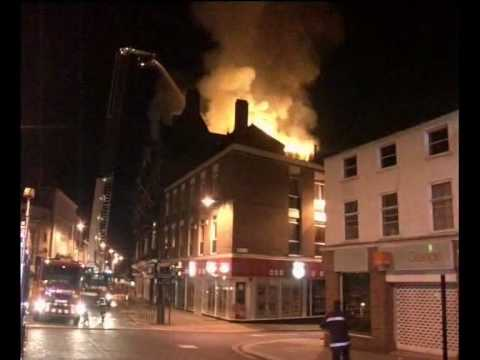 Kings Head Hotel Fire Youtube