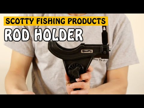 Scotty Baitcaster And Spinning Rod Holder   My Fishing Essentials