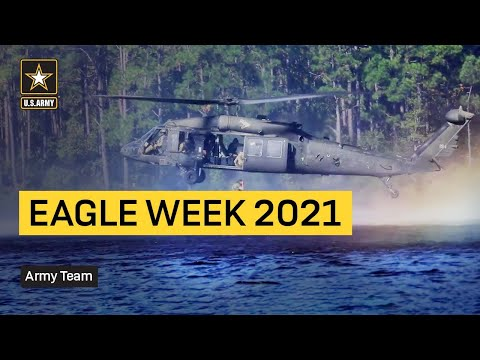 Paratroopers Participate in Eagle Week 2021