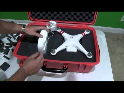 DIY DJI Phantom 2 Vision+ Case (Waterproof & Ruggedized)