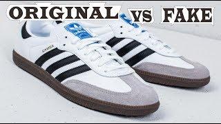 Adidas Samba OG White Original & Fake